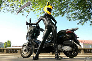 Celty rules by Barbie-Yuan