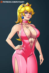 Patreon Commission - Princess Peach by R3YDART