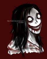 Jeff the killer by Mae-D
