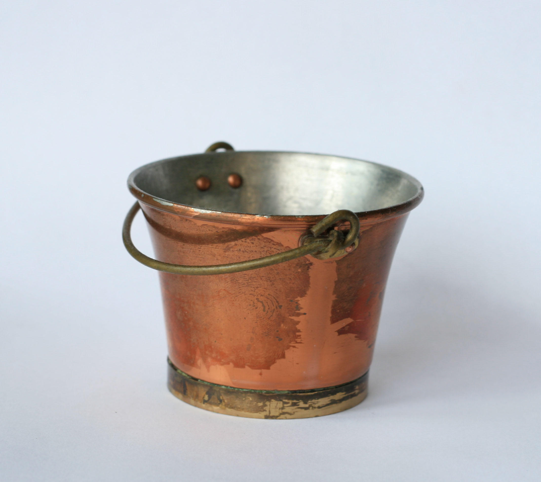 metal bucket handle down by doko-stock