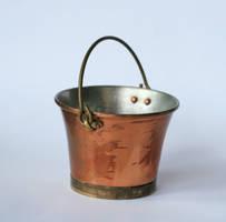 metal bucket handle up by doko-stock