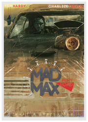 Mad Max: Fury Road (poster design version) by Tysall