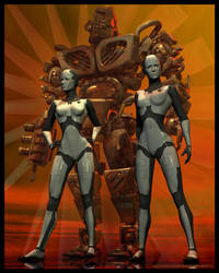 CyberTwins by Mistwraith