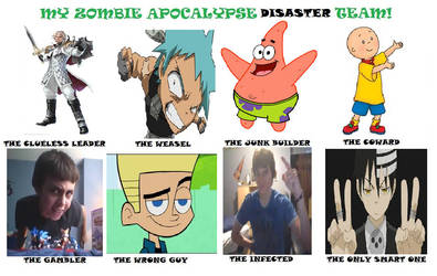 Zombie Apocalypse DISASTER Team by Bob8644