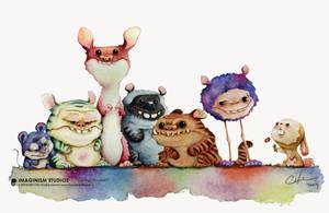 Making friends by Bobby Chiu by MmeMim