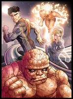 Fantastic 4 by lucasordonez