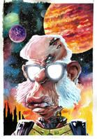 Isaac Asimov by lucasordonez