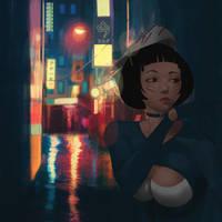 Neo Tokyo by Ozaj