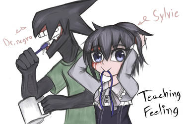 Teaching Feeling : Another day with my OC by Tawan103loi