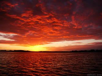 Skies Ablaze by Zerseu