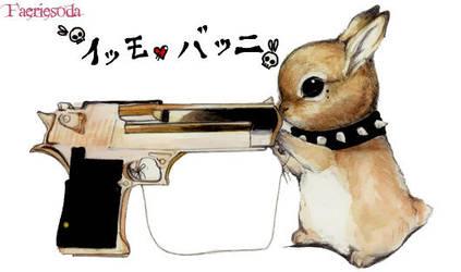 Emo Bunny by PokeShoppe