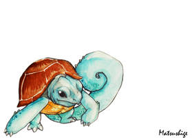 Squirtle 007 by PokeShoppe