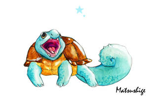 Squirtle Realism by PokeShoppe