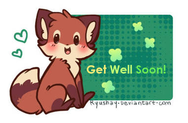 get well soon by Ryushay