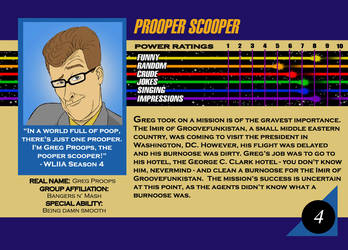 Marvel Card Greg Proops by Kracov
