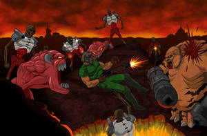 Doom: Flashback to Hell by Kracov