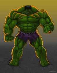 The Incredible Hulk by Kracov