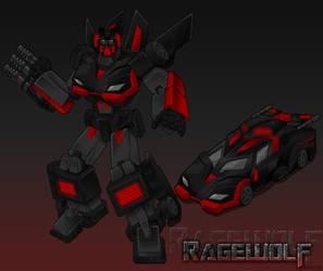 Transformers Ragewolf by Kracov