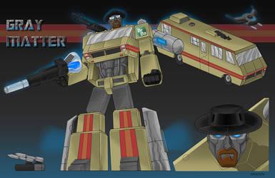 Transformers Gray Matter by Kracov