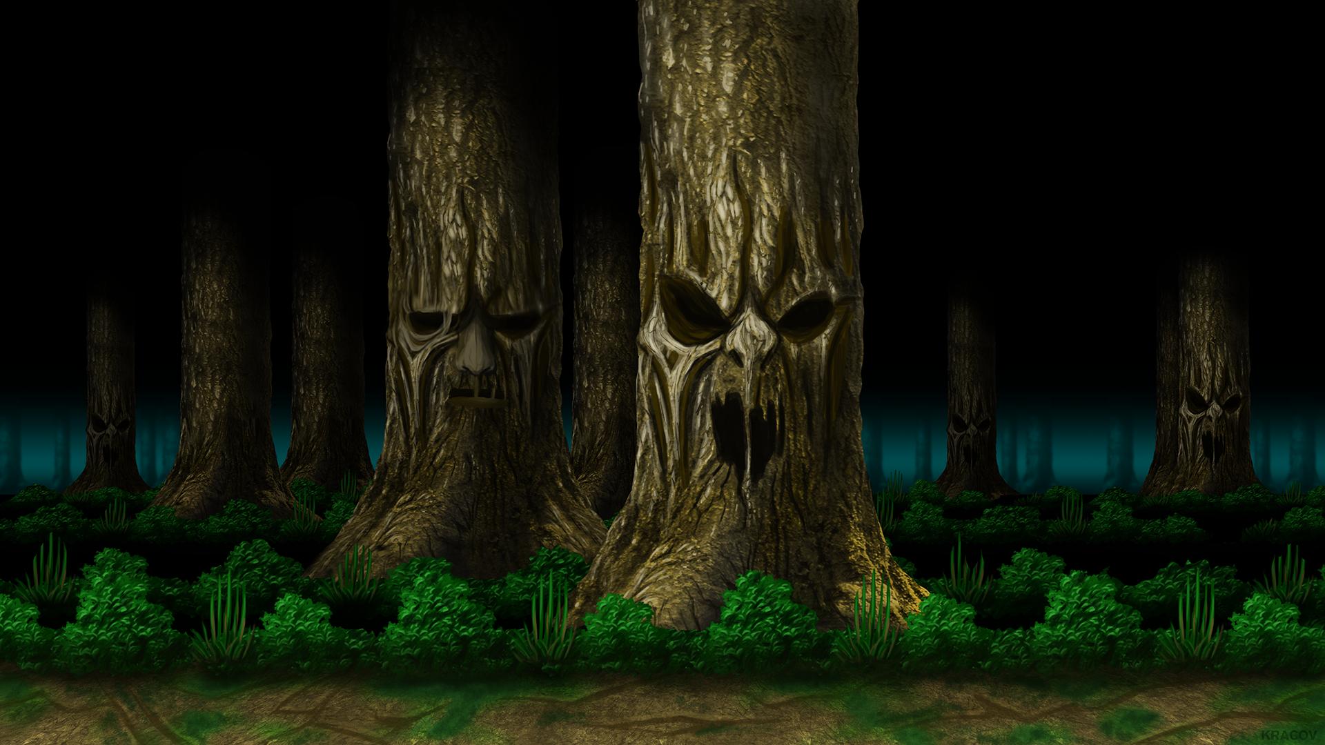 Mortal Kombat Living Forest HD by Kracov