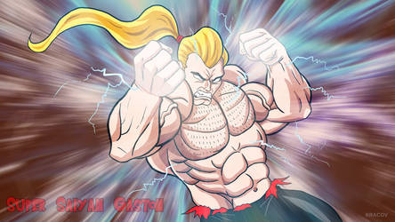 Super Saiyan Gaston by Kracov