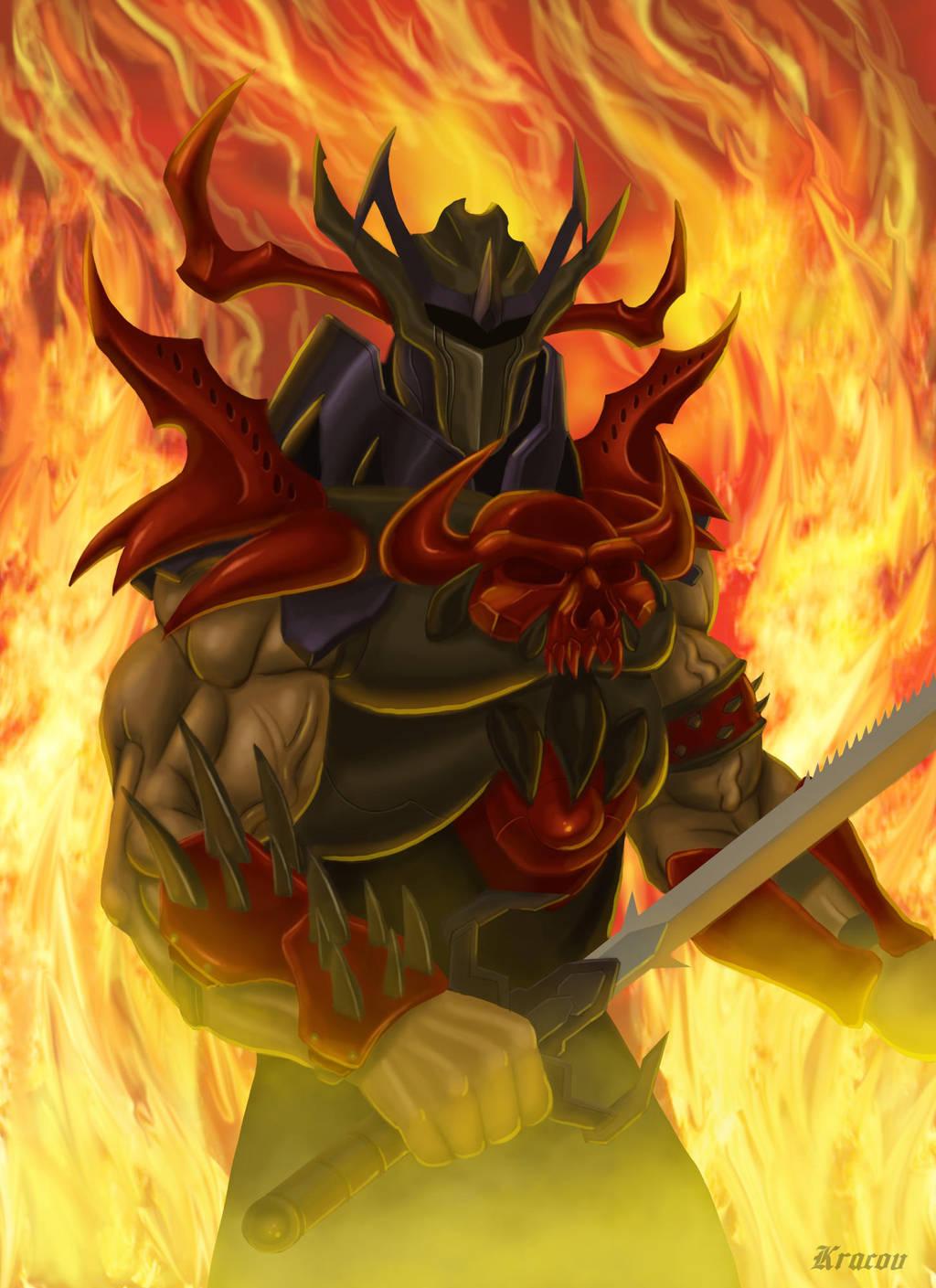Gothic Warrior by Kracov