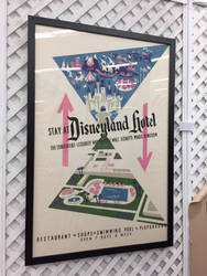 Disneyland Hotel Poster  by firegirl1995