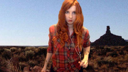 Amy Pond cosplay - Impossible Astronaut by HaylzzPond