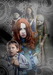 Amy Pond - Night Terrors cosplay by HaylzzPond