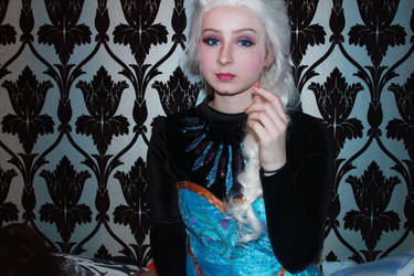 Elsa makeup test 2 by HaylzzPond