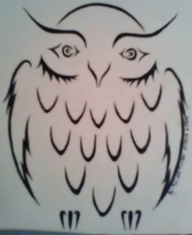 Tribal Owl Tattoo Design By Nightangel1282311 On Deviantart