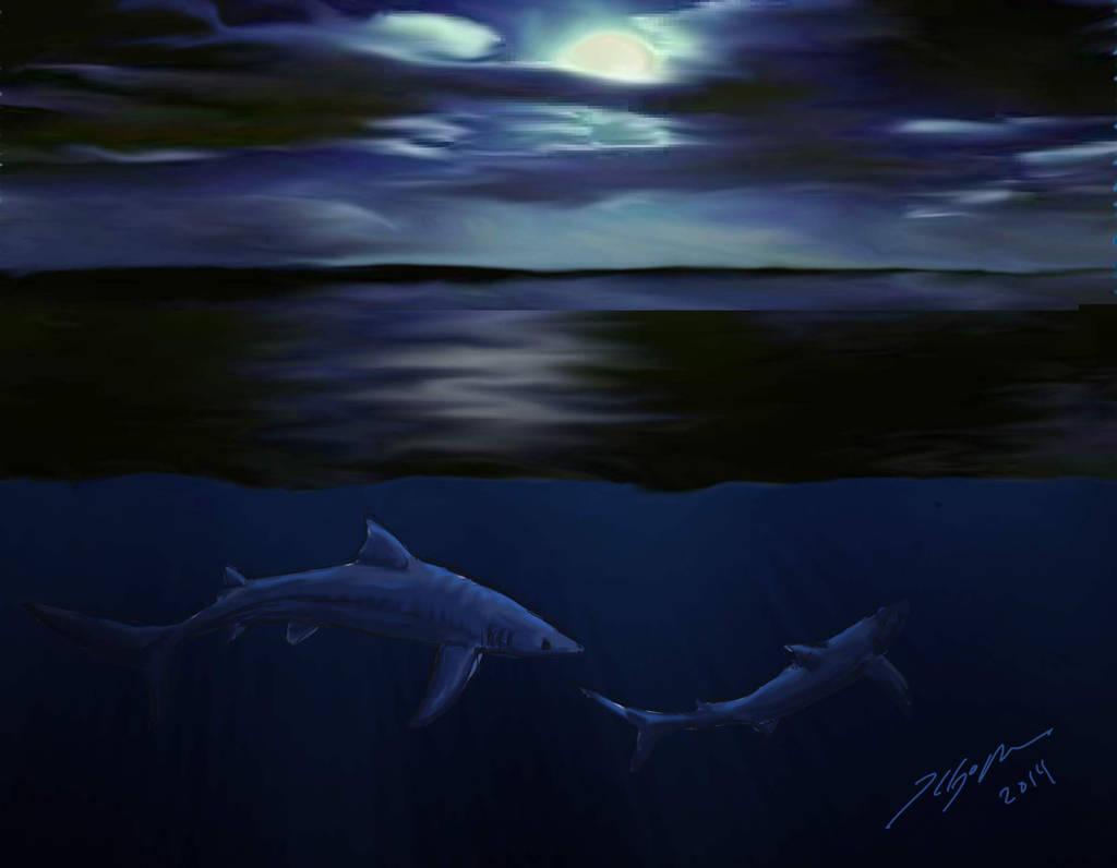 Shark Week 2014: Blue Shark by Metal-Lark