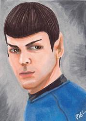 Spock by Purple-Pencil