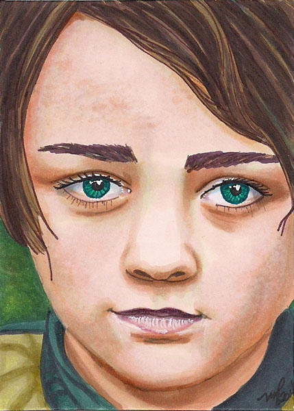 Aria Stark by Purple-Pencil