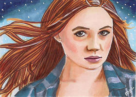Amy Pond by Purple-Pencil