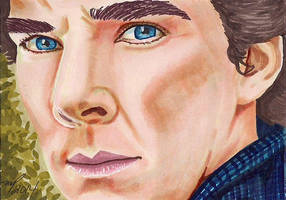 Cumberbatch - Sherlock Holmes by Purple-Pencil