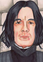 Snape by Purple-Pencil