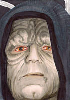 Emperor Palpatine  Return of the Jedi Star Wars by Purple-Pencil