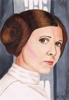 Princess Leia Star Wars by Purple-Pencil