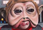 Nien Numb Empire Strikes Back Star Wars by Purple-Pencil