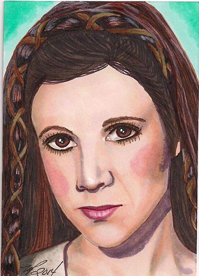 Princess Leia Return of the Jedi by Purple-Pencil