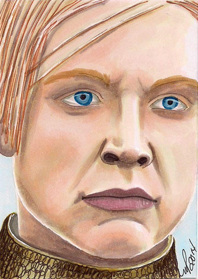 Brienne of Tarth Game of Thrones by Purple-Pencil