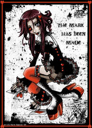 - + - the mark - + - by karincoma