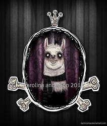 _monsieur Llama by karincoma