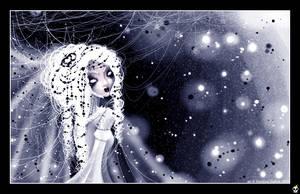 .. reine de l'hiver .. by karincoma
