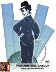 Charlie Chaplin by marimoreno