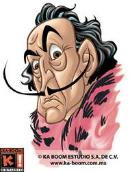 Salvador Dali 1 by marimoreno