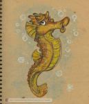 Seahorse by marimoreno