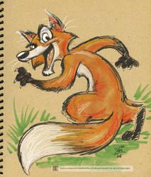Fox by marimoreno