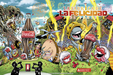 Coca-Cola front and back cover by marimoreno